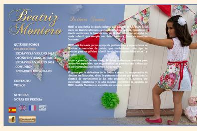 Marca moda infantil Beatriz Montero