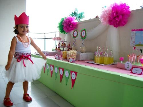 Decoración mesa cumpleaños princesas - Imagui