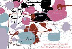 Nuestros peques artistas: Pintar como Jackson Pollock.