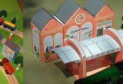 Nuestra ciudad en miniatura. Imprimibles gratis.