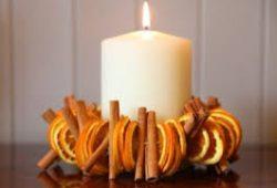 Navidad con aroma de la rica mandarina.