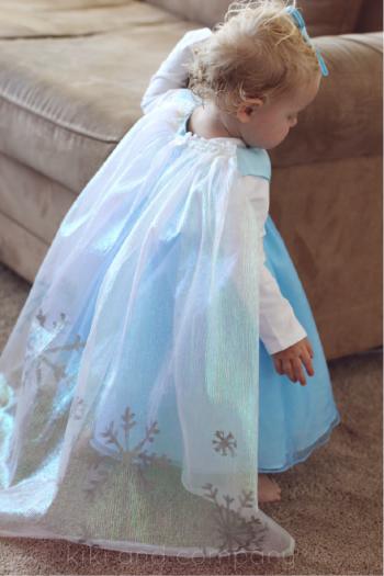 Disfraz de Elsa Frozen casero
