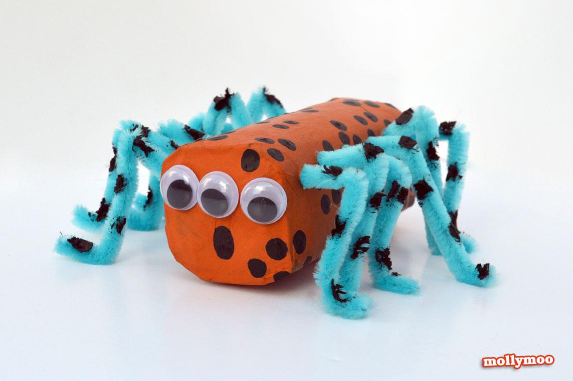 toilet-roll-spider-craft