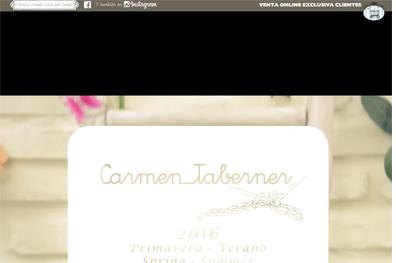 Marca de ropa Infnatil Carmen Taberner