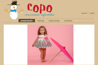 Marca moda infantil Copo