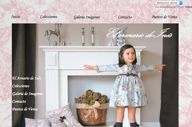 Marca moda Infantil el armario de Inés