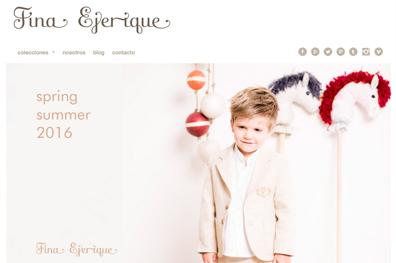 Marca Ropa Infantil - Fina Ejerique
