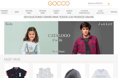 Marca Ropa Infantil - Gocco