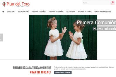 Marca Ropa Infantil Pilar del Toro
