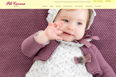 Marca Moda Infantil Pili Carrera