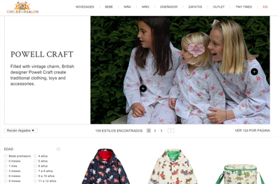 Marca Ropa Infantil - Powell Craft