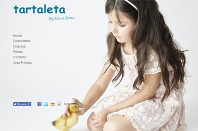 Marca de Ropa Infantil - Tartaleta