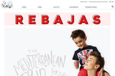 Marca de Ropa Infantil - Trasluz