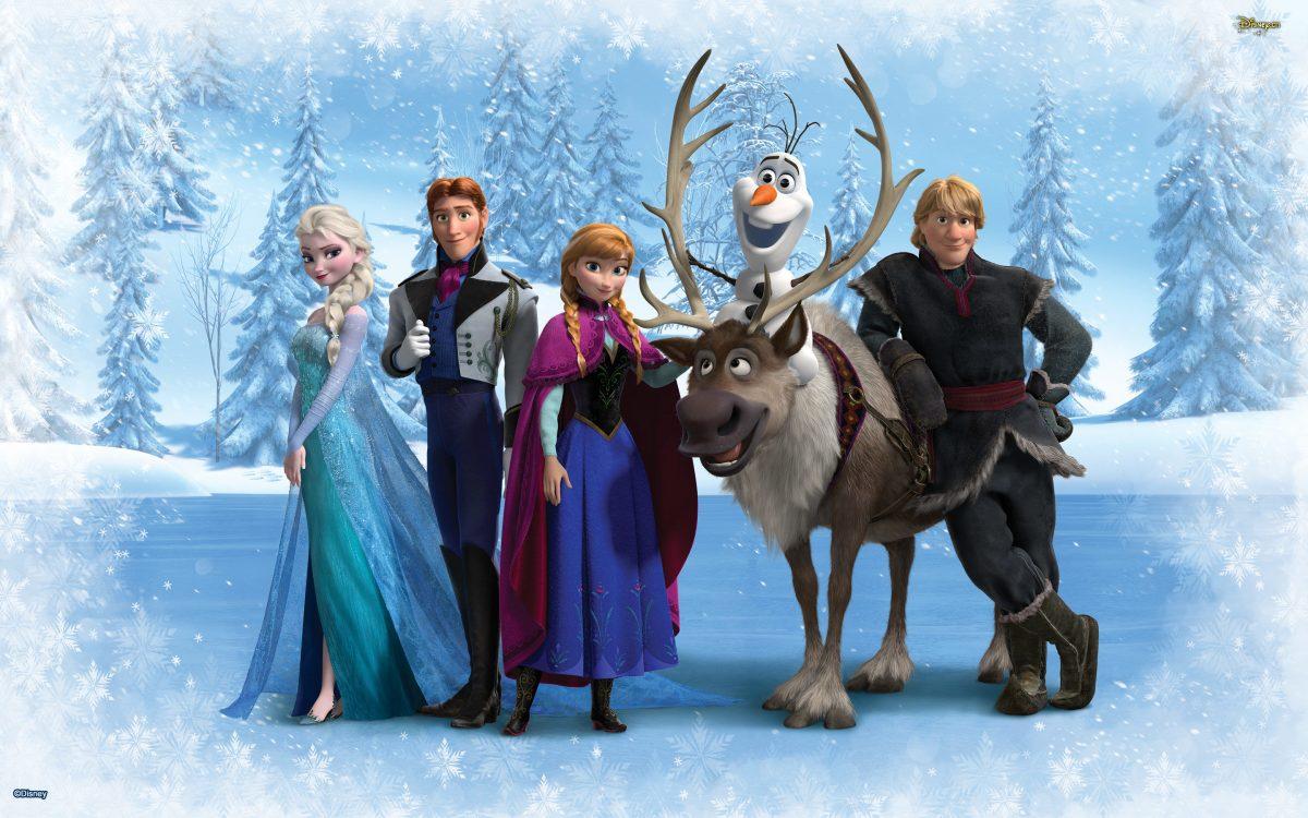 Imprimibles gratis Frozen
