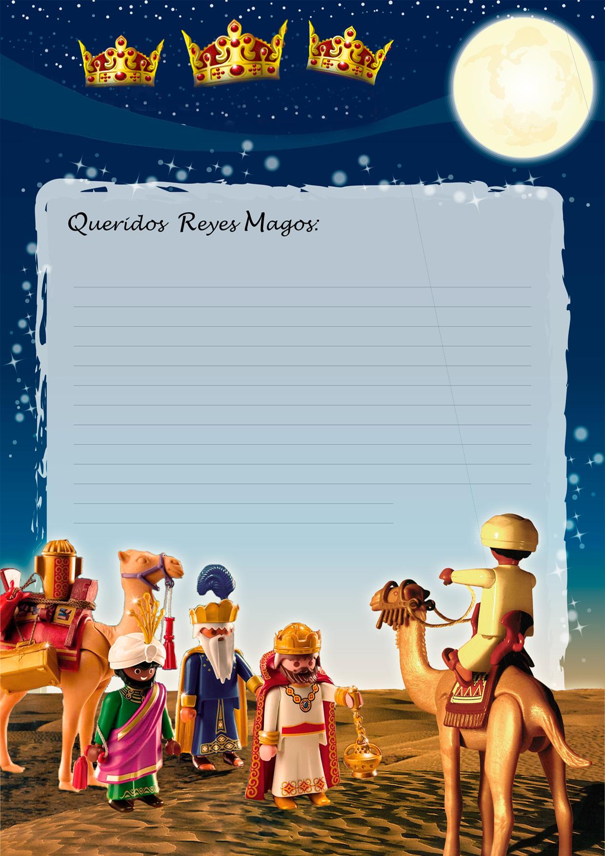 Cartas muy molonas para pedir regalos a los 3 reyes magos - Que pedir a los reyes magos ...