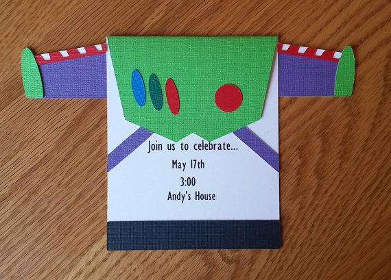 Invitación fiesta infantil Toy Story