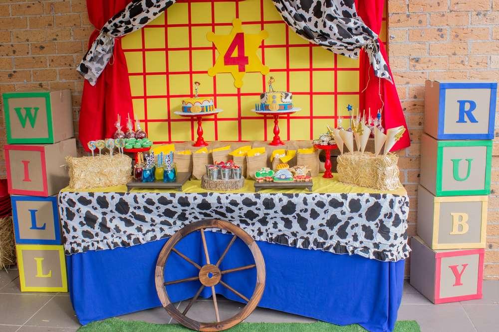 Decoraci n fiesta tem tica de toy story fiestas - Ideas fiestas tematicas ...