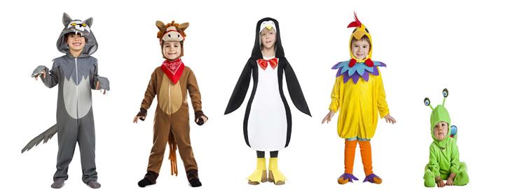 Disfraces infantiles para carnaval