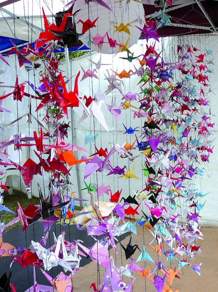 Origami fiesta infantil