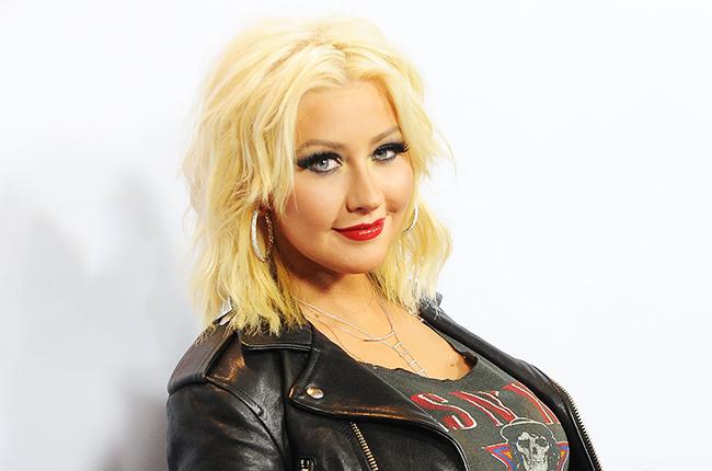 Madres famosas Christina Aguilera