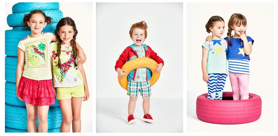Moda ropa infantil