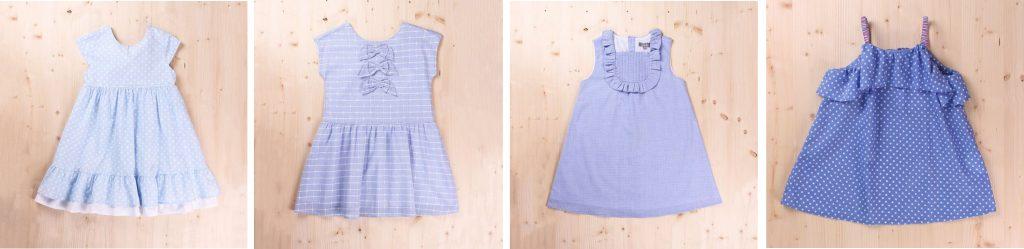Vestidos de niña para el verano