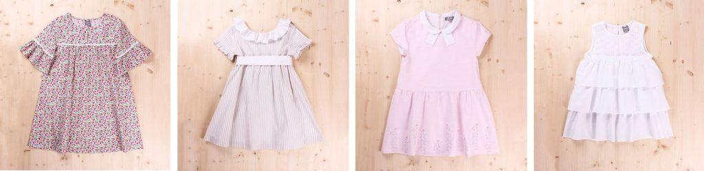 Vestidos rosas para niña