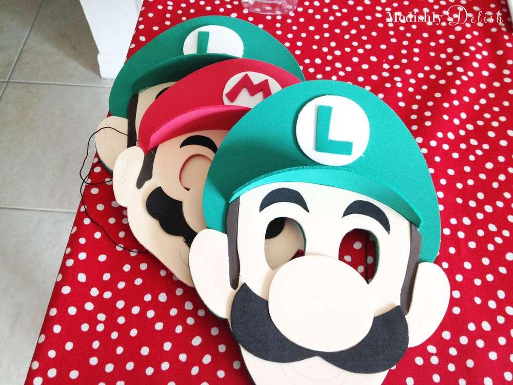 Caretas Mario Bros