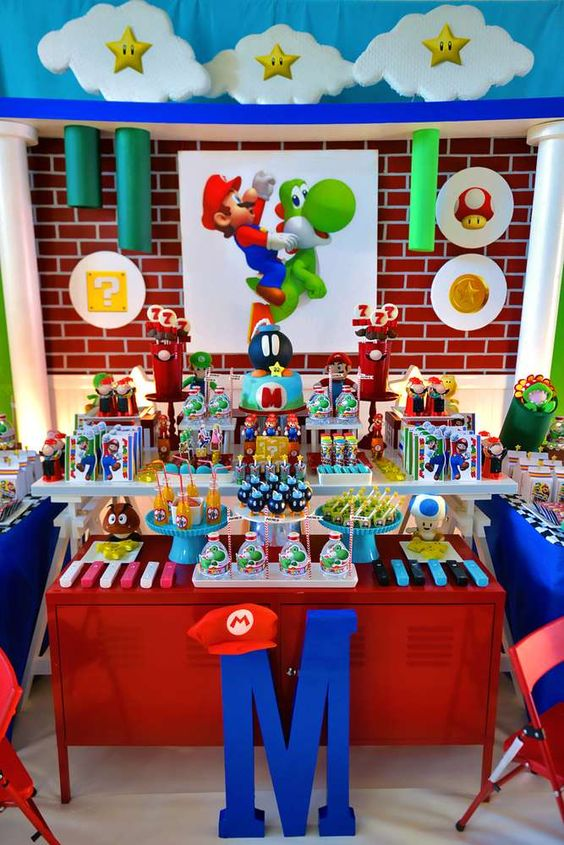 Fiesta infantil tem tica super mario bros ideas para for Ideas para mama