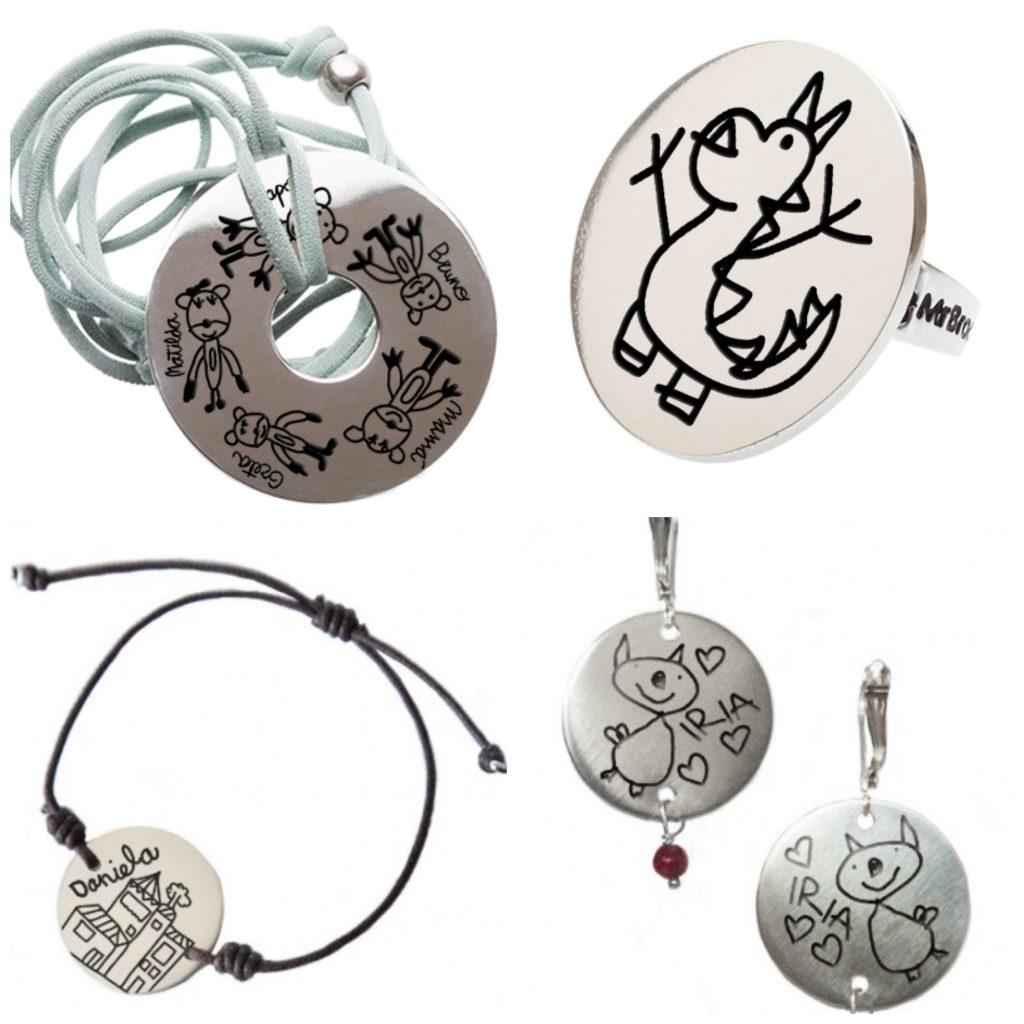 Regalo original joyas personalizadas