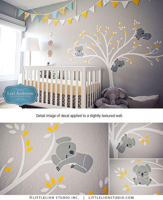 Vinilos decoración habitación de bebé