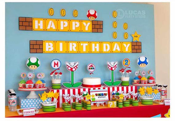 mesa dulce Mario Bros