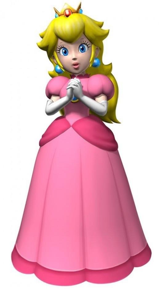 Imprimible princesa Peach