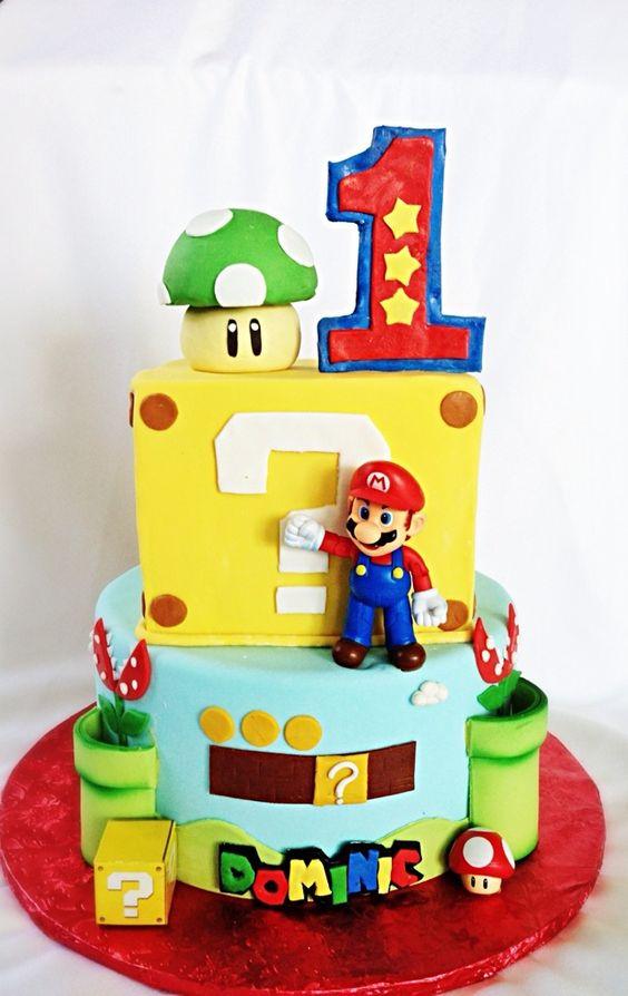 tarta Mario Bros