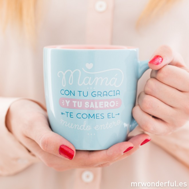 taza de regalo de mr wonderfull