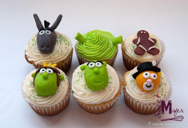 Cupcakes fiesta Shrek