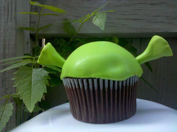 cupcake shrek