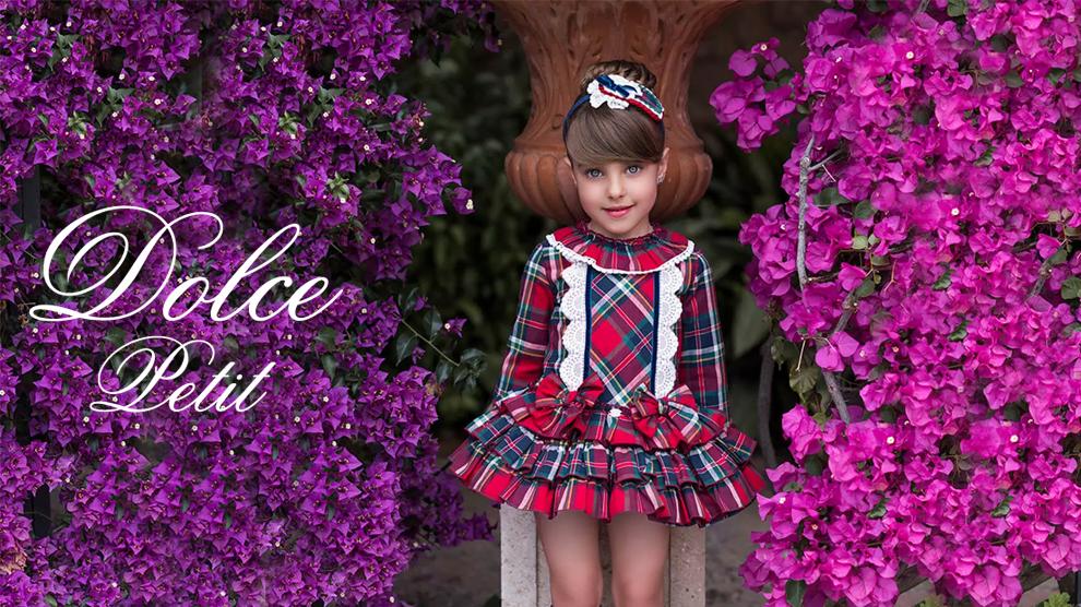 """""""Dolce Petit"""" Diseño y acabados únicos – Moda Infantil"""