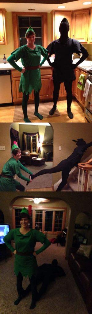 Disfraz Peter Pan y su sombra