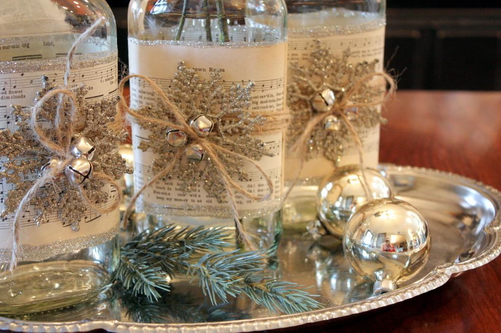 Decoraciones navideas para estas navidades Centros de mesa