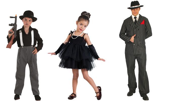 disfraces en familia