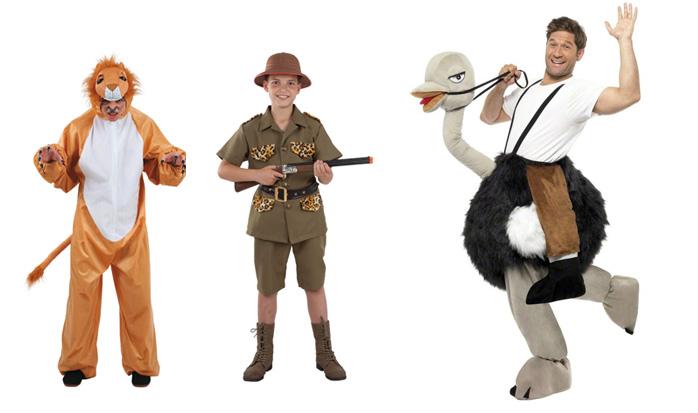 Disfraces para un safari