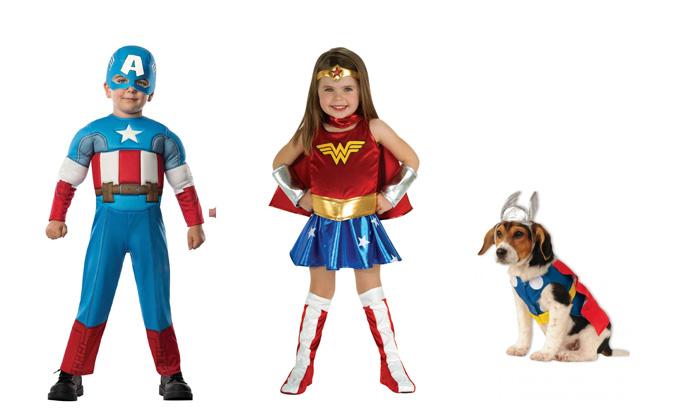 Disfraz de superhéroes