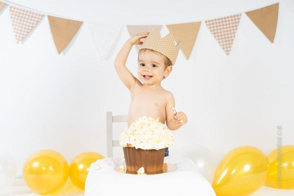 Sesión de fotos Cake Smash