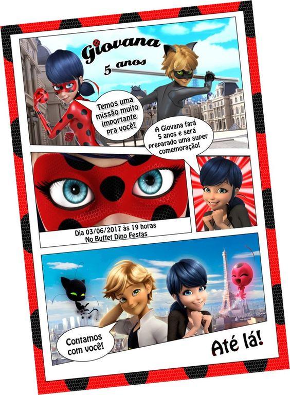 Invitaciones Ladybug
