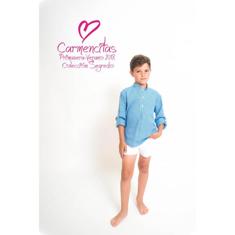 camisa verano para niño