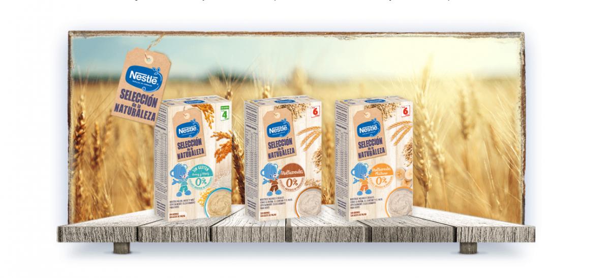 ¿Conoces las papillas naturales de Nestlé?
